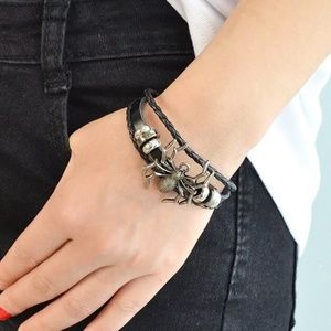 New Black Spider Bracelet